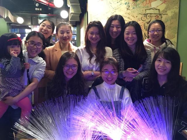 Chinese volunteers in Midlight
